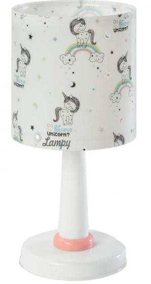 Dalber tafellamp Unicorns 30 cm wit kopen