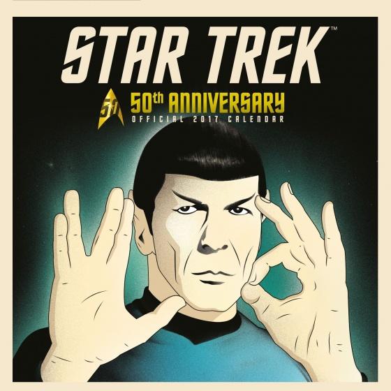 Danilo kalender Star Trek 2017 30 x 30 cm