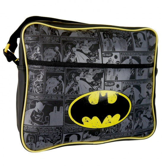 DC Comics Schoudertas Batman 24 x 28 x 9 cm zwart