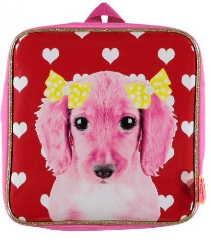 deKunstboer Kinderrugzak Hond Roze 24 x 10 x 24 cm