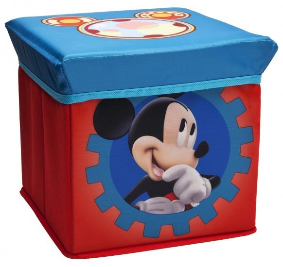 Delta Kids Mickey Mouse Ottoman Opbergmand en Kruk