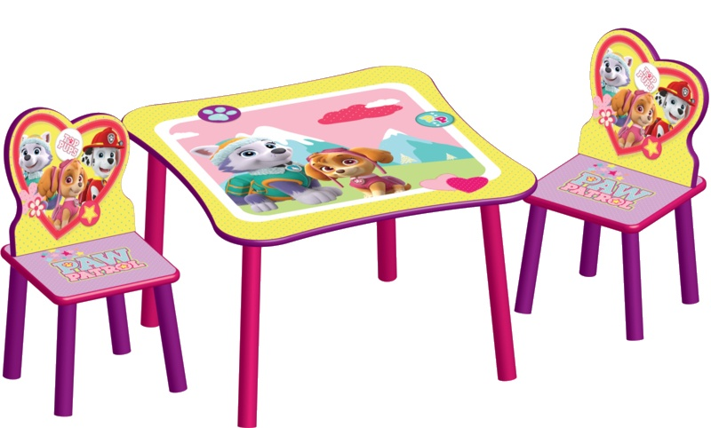 Delta Kids Paw Patrol Table With Wood Chairs Internet Toys