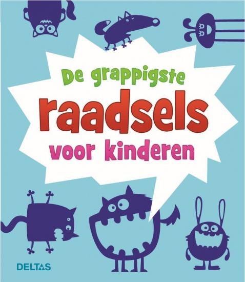 Deltas moppenboek: De grappigste raadsels voor kinderen