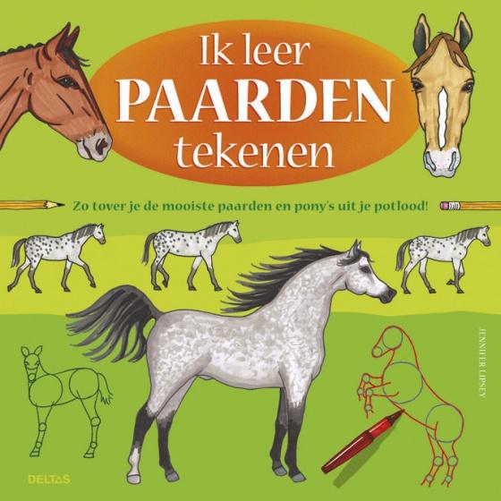 Ik leer paarden tekenen