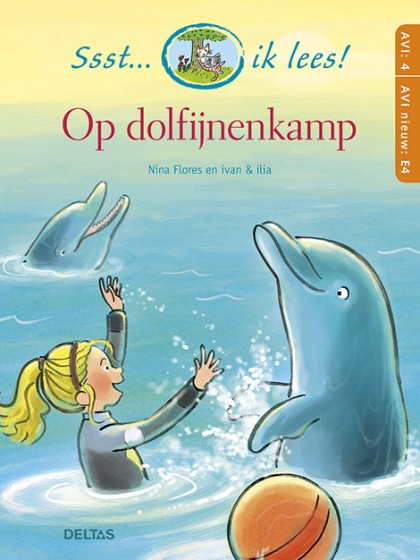learn to read On dolphin camp AVI: 4 / E4 21 cm