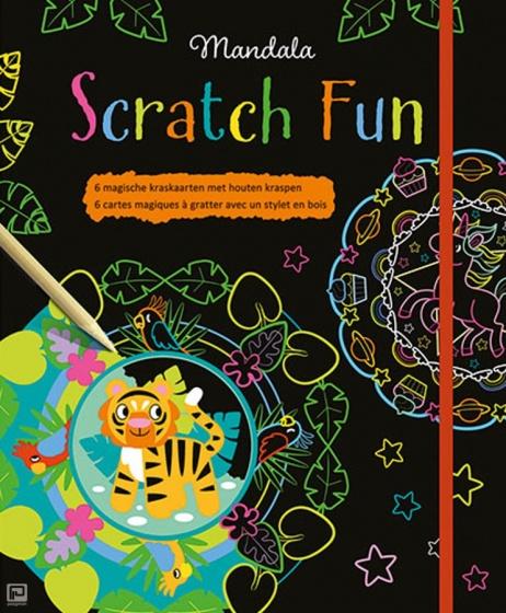 Natuur Kleurplaten Deltas.Mandala Scratch Fun