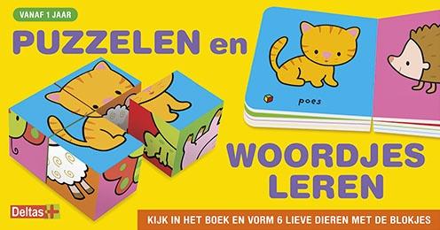 Deltas oefendoos puzzelen en woordjes leren 8 cm Anita Engelen