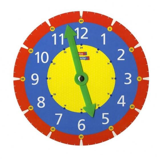 Ik oefen met de klok