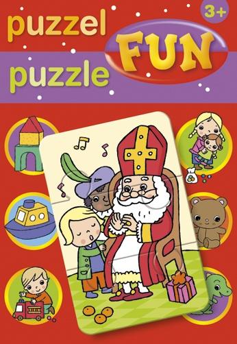 Deltas puzzel Sinterklaas 17 cm 15 delig
