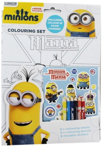 Despicable Me Kleurset Minions