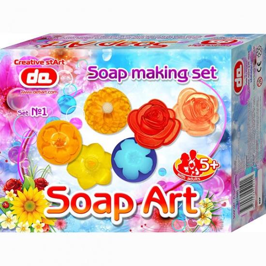 Deti Art Maak je eigen zeep: Flowers