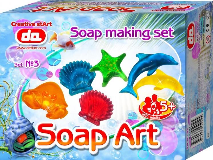 Deti Art Maak je eigen zeep: Seaworld