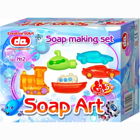 Deti Art Maak je eigen zeep: Transport