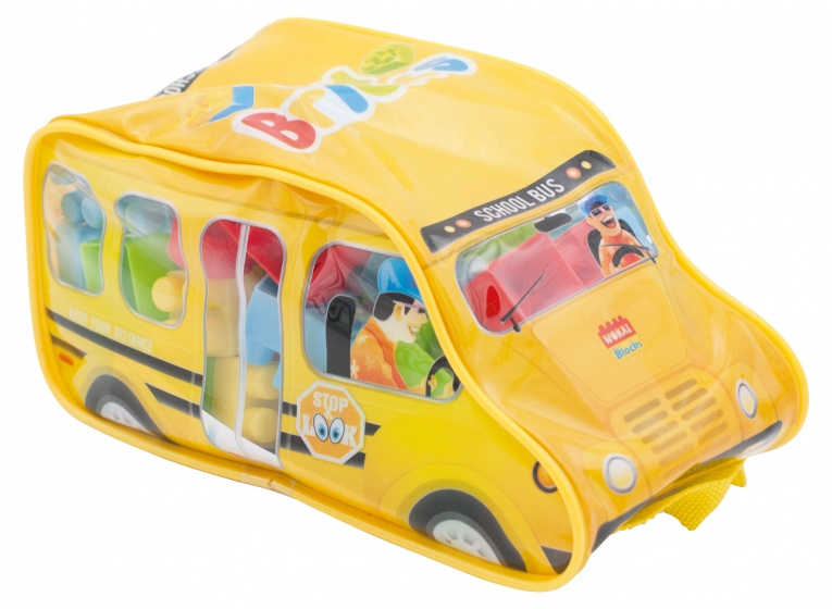 Diakakis bouwblokken schoolbus 44 delig