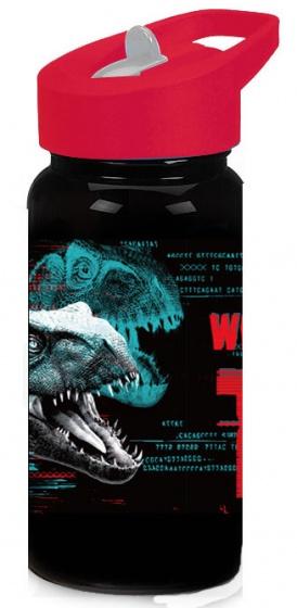 Diakakis drinkfles Jurassic World junior 500 ml zwart/rood