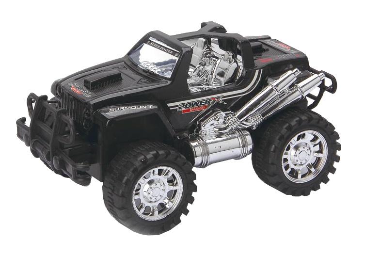 Diakakis Jeep 4x4 powerracing zwart 23 cm