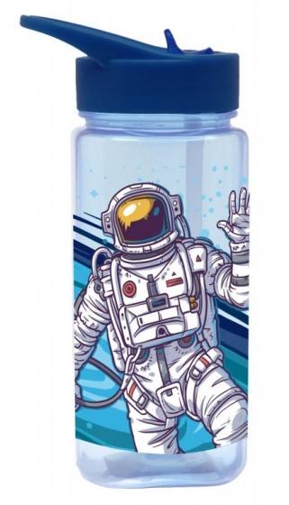 Diakakis pop up drinkfles Astronaut jongens 500 ml blauw