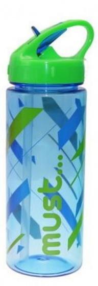 Diakakis pop up schoolbeker Must junior 500 ml blauw/groen