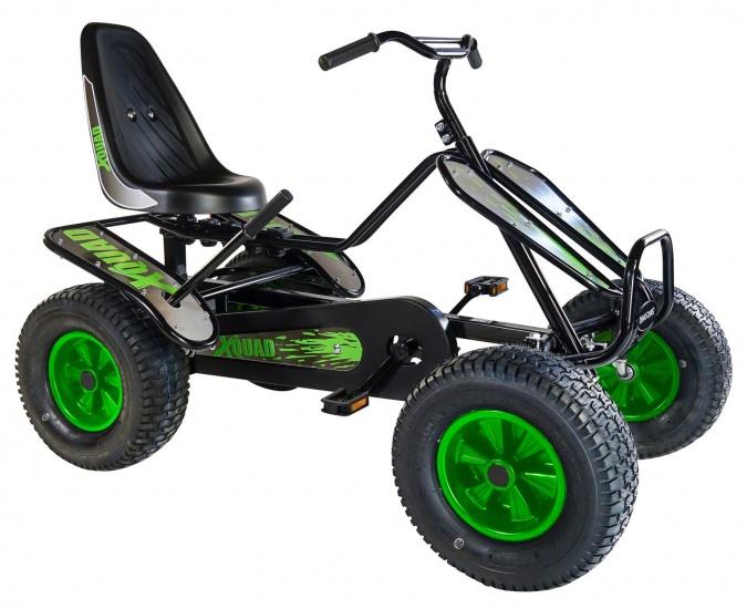 Dino Cars Editions X Quad Skelter Zwart / Groen