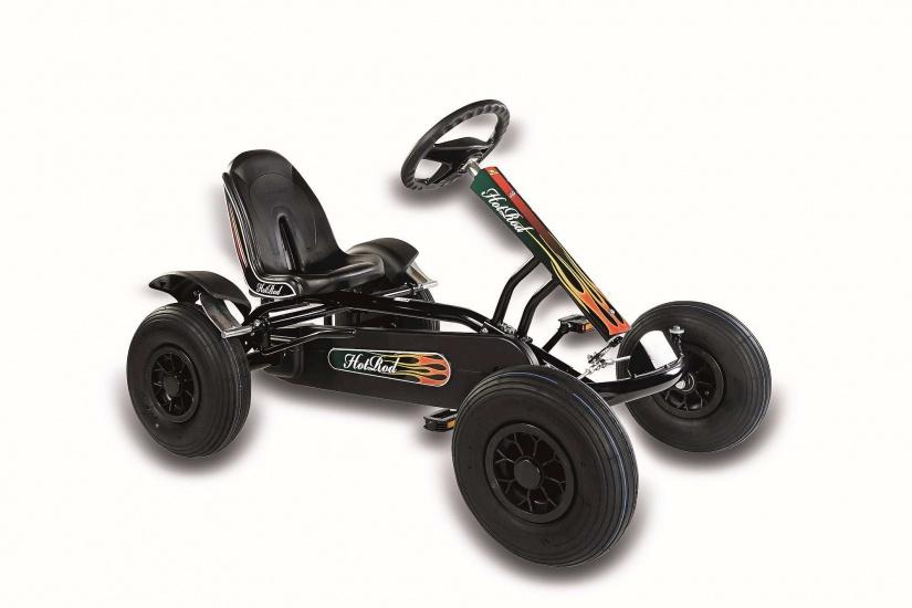 Dino Cars Junior Hot Rod Skelter Zwart