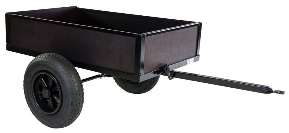 Dino Cars Kiep Aanhangwagen Voor Skelter Zwart