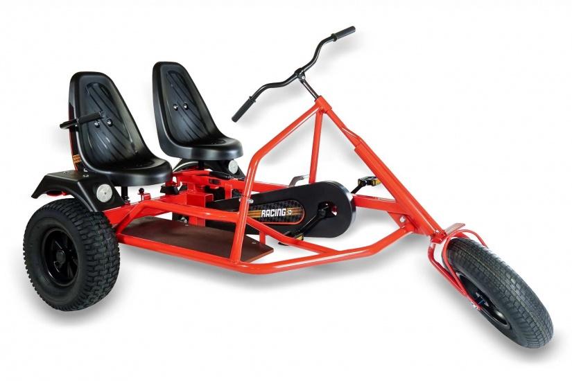 Dino Cars Skelter Side Car Trike ZF Rood / Zwart
