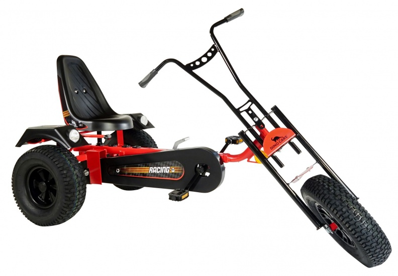 Dino Cars Skelter Trike ZF Rood / Zwart