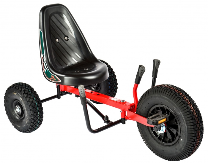 Dino Cars Skelter Twister 0214 Junior Rood / Zwart