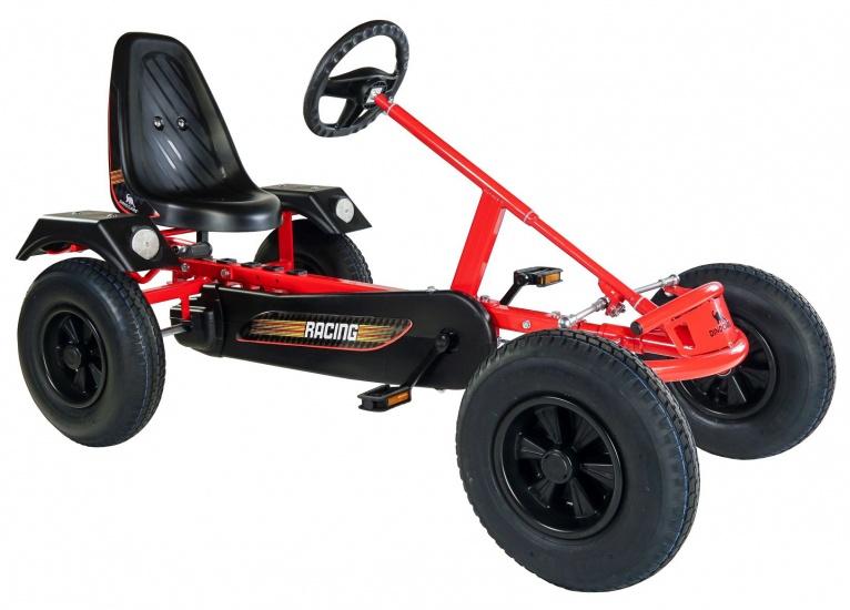 Dino Cars Sport Skelter Met Racebanden Rood