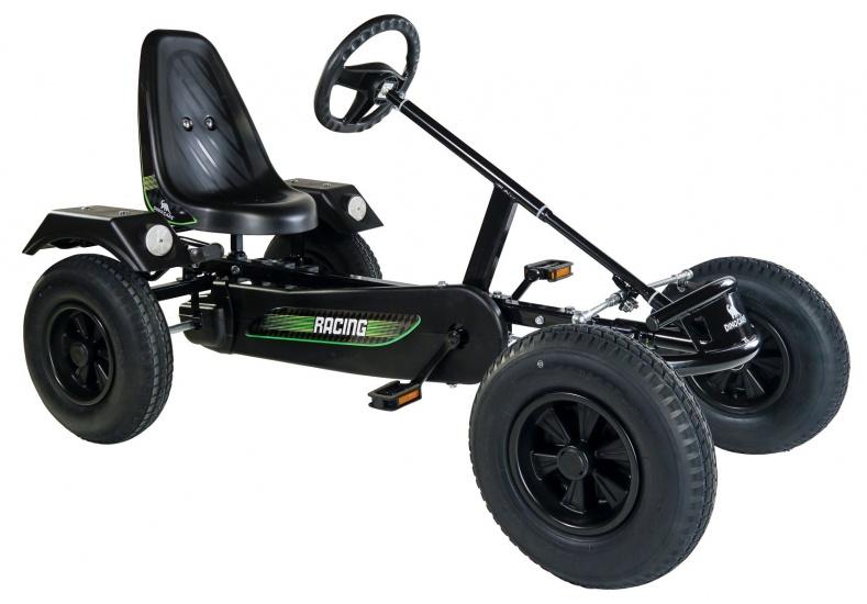 Dino Cars Sport Skelter Met Racebanden Zwart