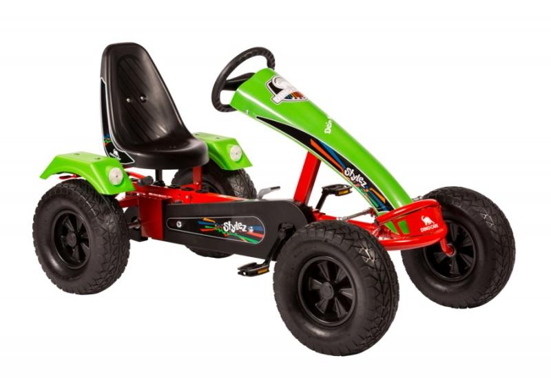 Dino Cars Stylez Skelter Met Off Road banden Rood / Groen
