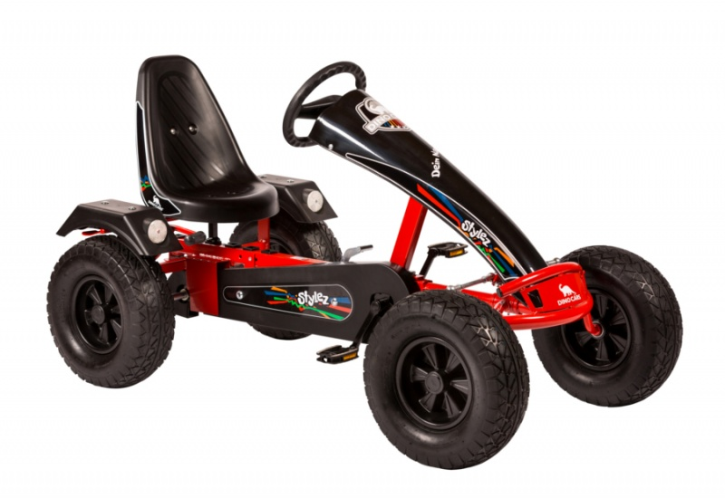 Dino Cars Stylez Skelter Met Off Road banden Rood / Zwart