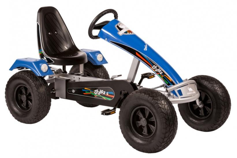 Dino Cars Stylez Skelter Met Off Road banden Zilver / Blauw