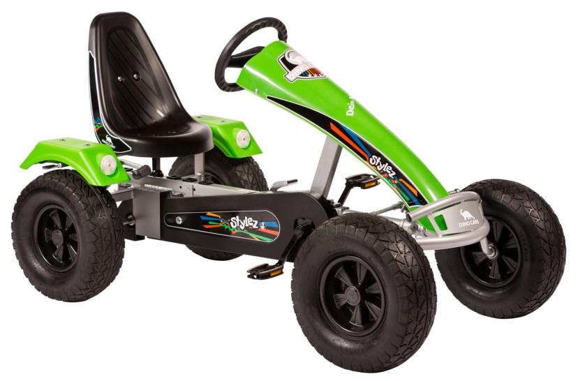 Dino Cars Stylez Skelter Met Off Road banden Zilver / Groen