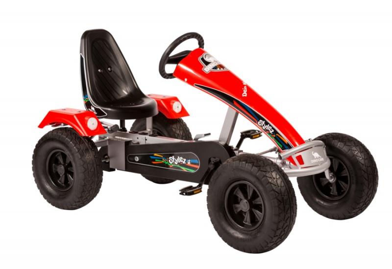 Dino Cars Stylez Skelter Met Off Road banden Zilver / Rood