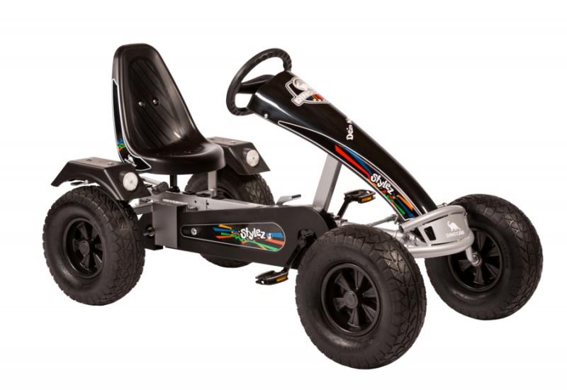 Dino Cars Stylez Skelter Met Off Road banden Zilver / Zwart