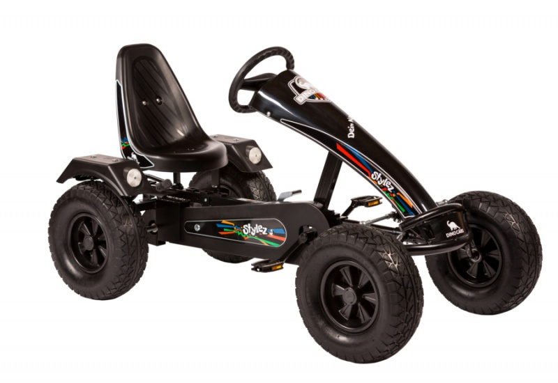 Dino Cars Stylez Skelter Met Off Road banden Zwart
