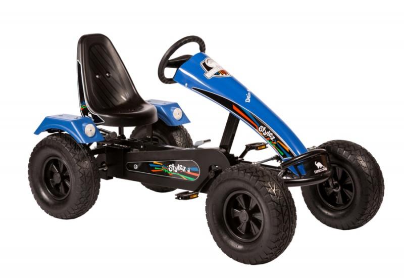 Dino Cars Stylez Skelter Met Off Road banden Zwart / Blauw