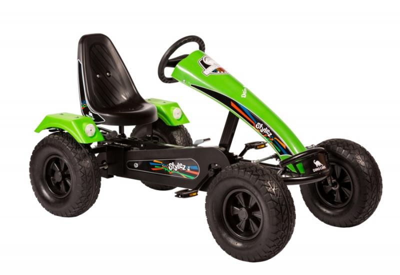 Dino Cars Stylez Skelter Met Off Road banden Zwart / Groen