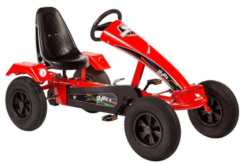 Dino Cars Stylez Skelter Met Racebanden Rood