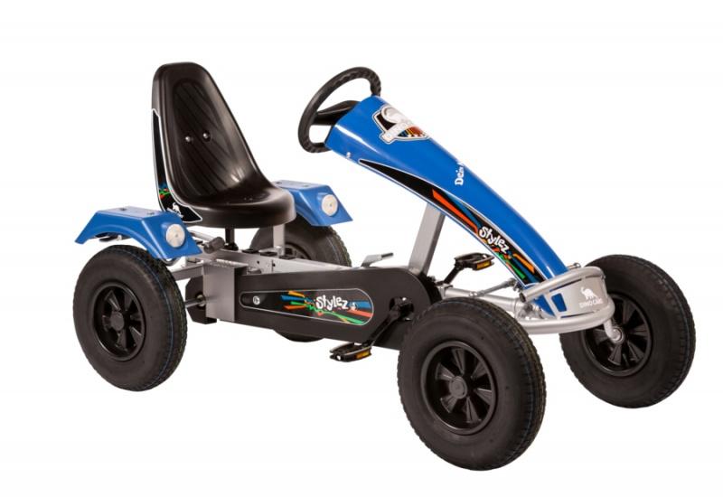 Dino Cars Stylez Skelter Met Racebanden Zilver / Blauw
