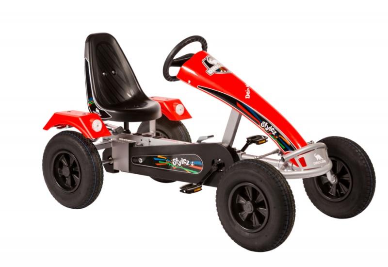 Dino Cars Stylez Skelter Met Racebanden Zilver / Rood
