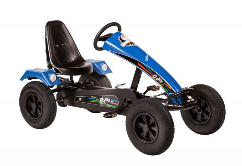 Dino Cars Stylez Skelter Met Racebanden Zwart / Blauw