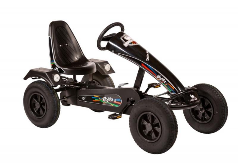 Dino Cars Stylez Skelter Met Racebanden Zwart / Zwart