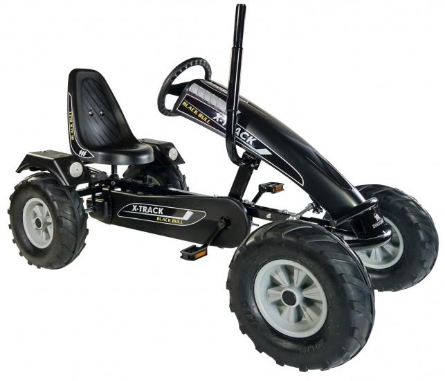 Dino Cars Tractor Skelter Black Bull Zwart