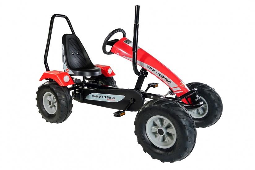 Dino Cars Tractor Skelter Massey Ferguson Rood