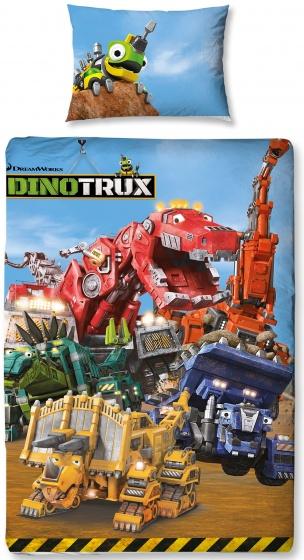 Dreamworks Dinotrux dekbedovertrek 140 x 200 cm