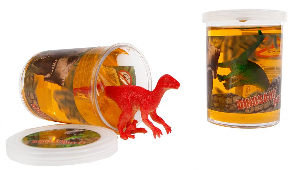 DinoWorld putty met dinosaurus junior 7,5 cm rood kopen