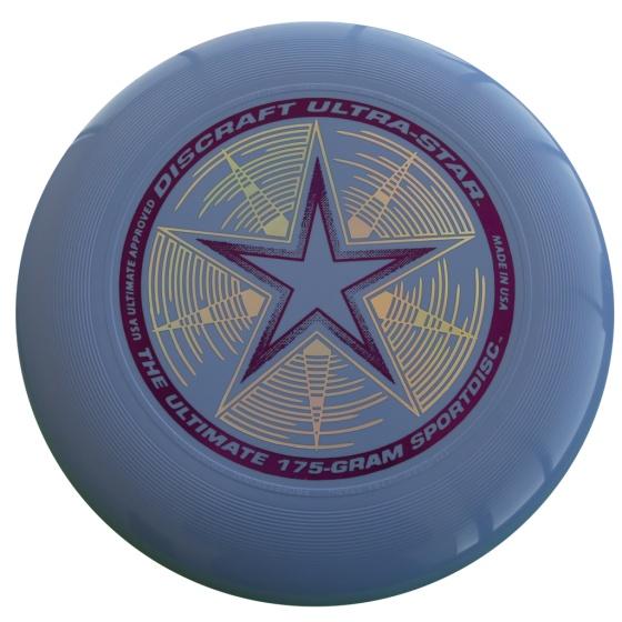 Discraft Ultra Star frisbee 27,5 cm 175 gram blauw