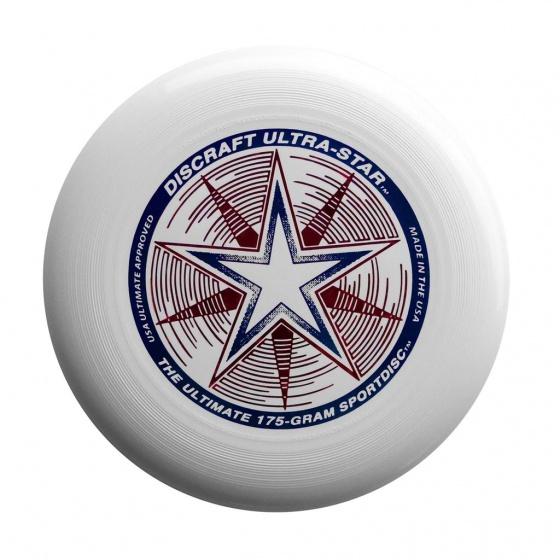 Discraft Ultra Star frisbee 27,5 cm 175 gram wit
